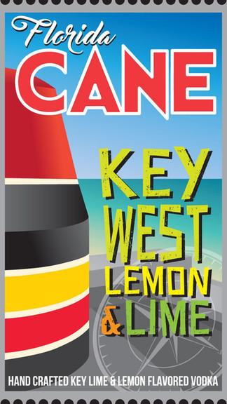 Florida CANE Key West Lemon & Lime Vodka