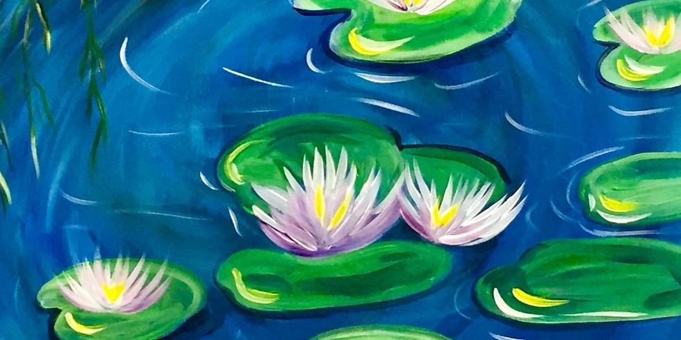 Monet In Summer -Public Artsy Party