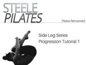 Steele Pilates Side Leg Series Progression Tutorial 1