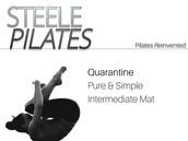 Pure & Simple Intermediate Mat