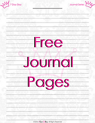 7 Day Slay free additional journal pages