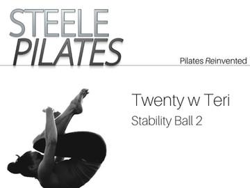 Twenty with Teri Stability Ball 2