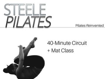 Steele Pilates 40 Minute Circuit + Mat Class