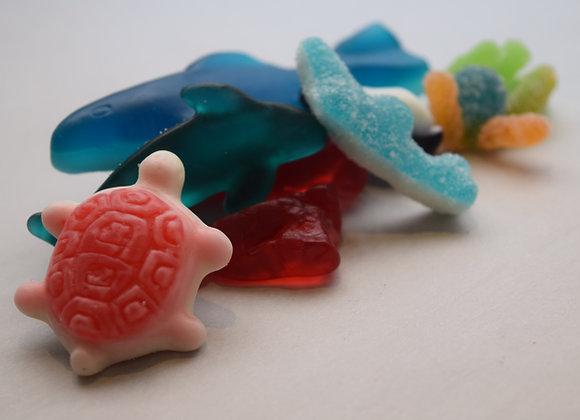 Assorted Sea Life Gummy Gift Bag (1 lb)