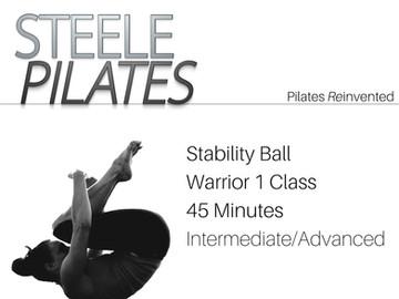 Stability Ball Warrior 1 | Int/Adv