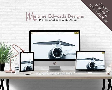 Private Jet | Charter-Concierge Template