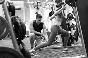 sport, fitness, teamwork, weightlifting