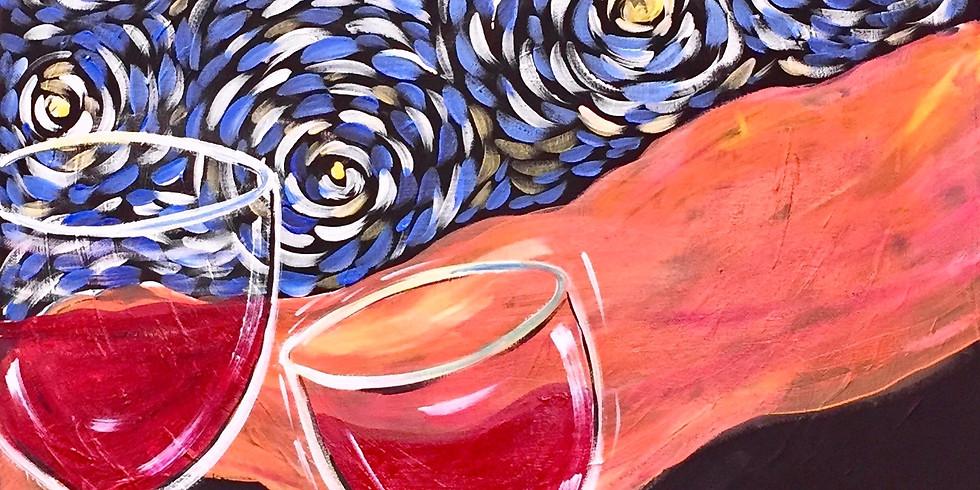 Van Gogh Cabernet- Public Artsy Party!  SOLD OUT