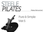 Steele Pilates Pure & Simple Mat 5