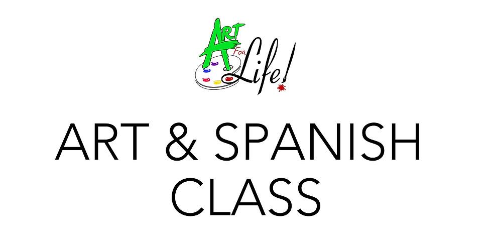 Art & Spanish Class