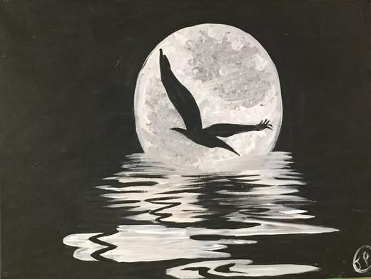 Seagull At Night.jpg