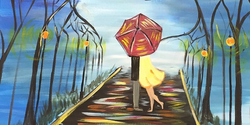 Kiss Under The Rain!- Public Artsy Party!