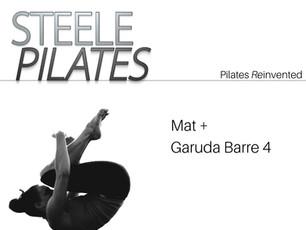 - Steele Pilates Mat + Garuda Barre 4