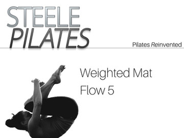 Steele Pilates Weighted Mat Flow 5