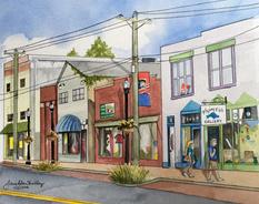 Main Street Stroll - Chincoteaque Island, VA