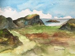 St. Columba Bay, Iona Scotland