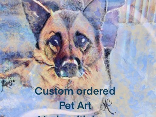 It's Here! Custom made Pet Photos