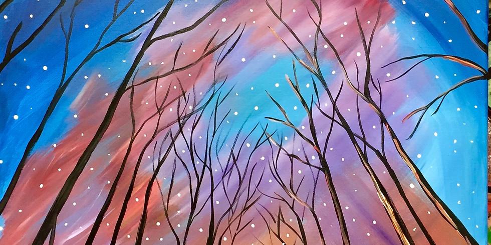 Bright Winter Night -Public Artsy Party!