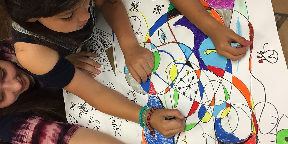 Paint Like Joan Miró -- Children's Artsy Event (9-14 YR. OLDS)