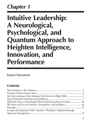 Developing Informed Intuition for Decision-Making