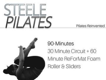 Steele Pilates 30 Minute Circuit + 60 Minute ReForMat Foam Roller & Sliders