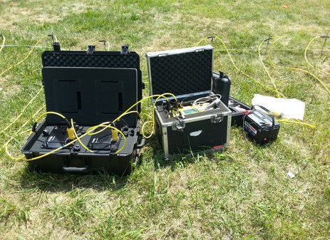 Soil Resistivity Testing Utilizing Wenner 4-Pin Method