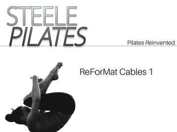 Steele Pilates ReForMat Cables 1