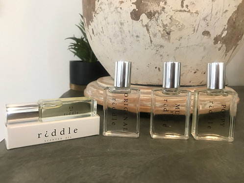 Riddle Scented Perfume Oils