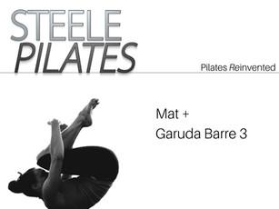 - Steele Pilates Mat + Garuda Barre 3