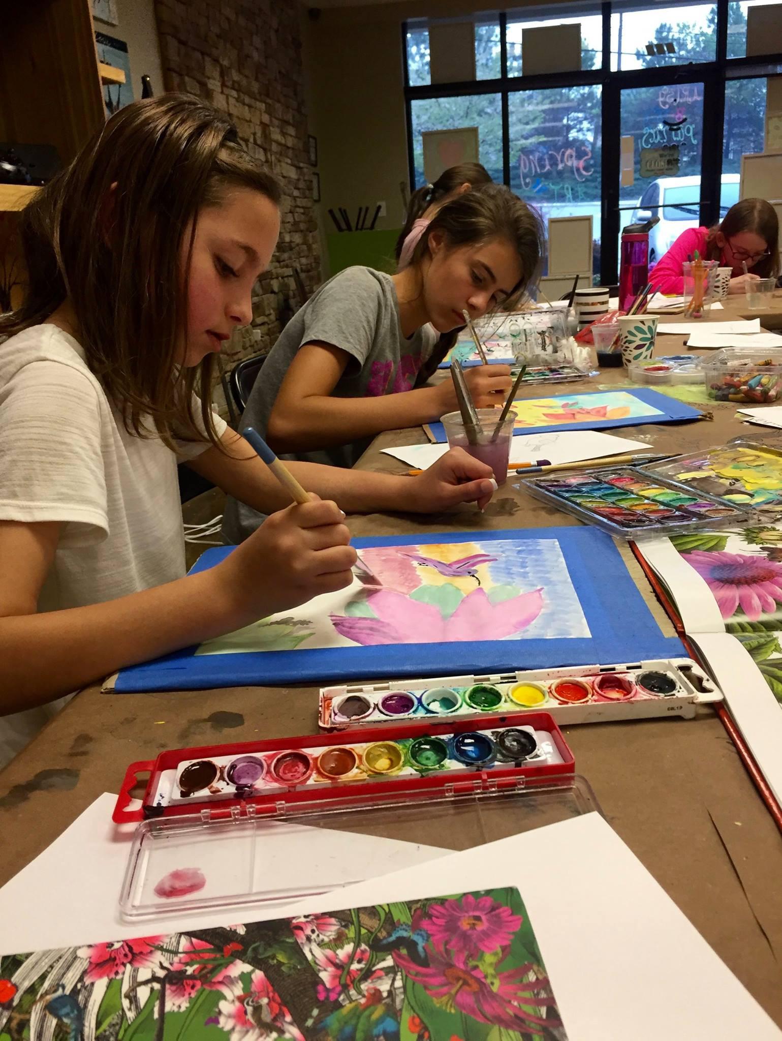 THUR | After School Art Class | 13+ Yrs