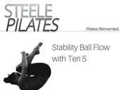 Steele Pilates Stability Ball Flow with Teri 5