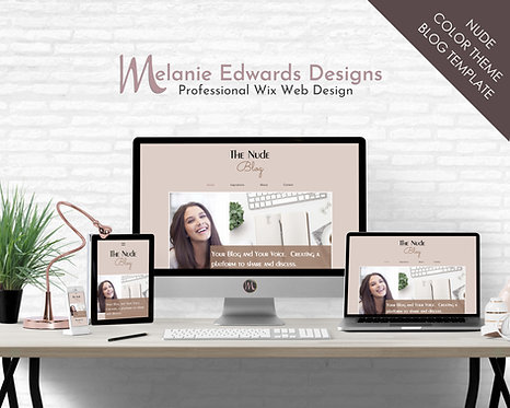 Nude Blog Template