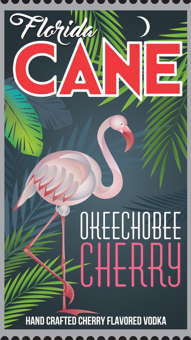 Florida CANE Okeechobee Cherry Vodka