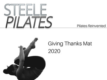 Steele Pilates Giving Thanks Mat 2020