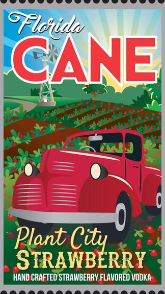 Florida CANE Plant City Strawberry Vodka