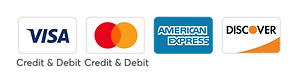 Credit Cards Accepted   Melanie Edwards Designs LLC   Wix Web Design