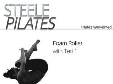 Foam Roller with Teri 1