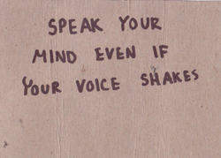 speak-up-for-yourself