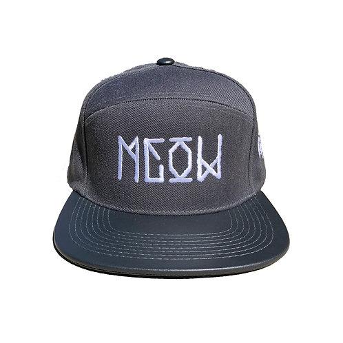 """Grey Camper Snap Back - """"Bekm 1"""" Meow"""