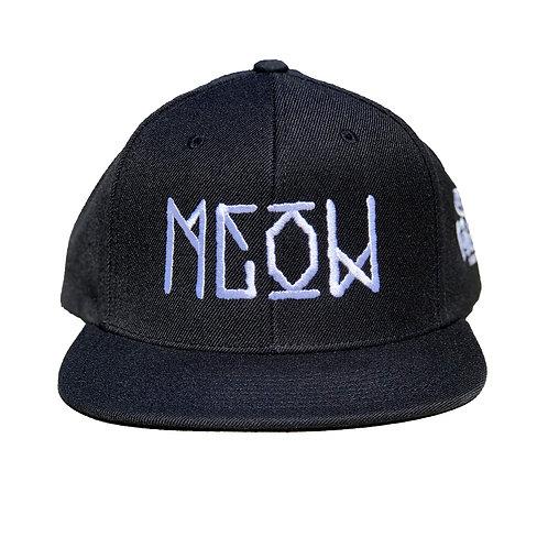 "Black Snapback - ""Bekm 1"" Meow"