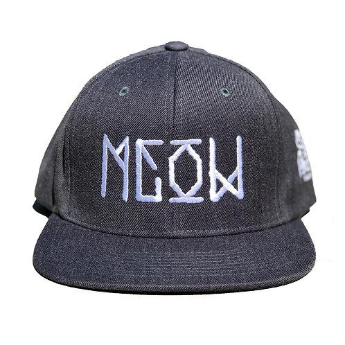 """Grey Snapback - """"Bekm 1"""" Meow"""