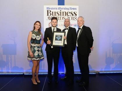 WINNER: Western Morning News Business Awards 2018!