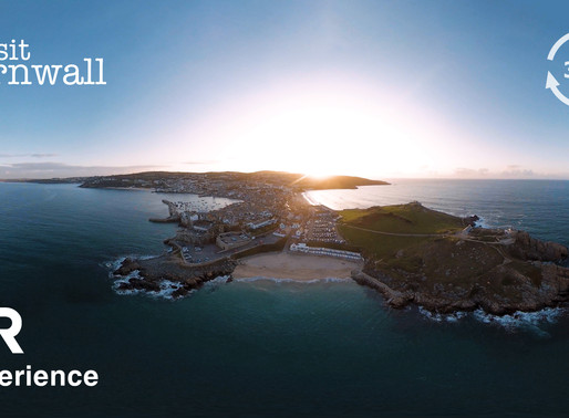 360 VR Drone Tour, with Visit Cornwall.