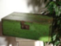 wood wooden tool box chest