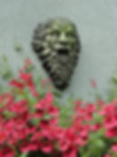 Folk Legend Reconstituted Stone Green man