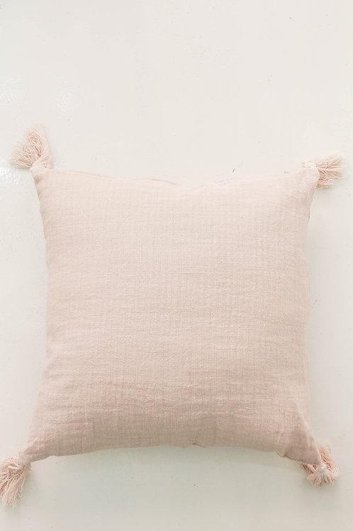Rose Tassel Pillow