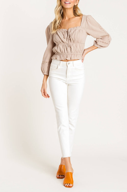 The Stassi Puff Sleeve Blouse