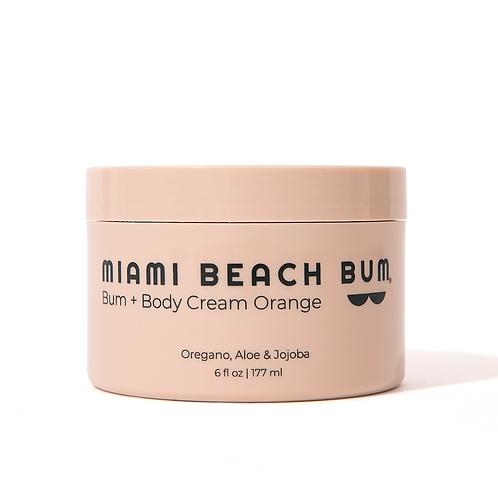 Miami Beach Bum | Bum + Body Cream Orange