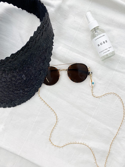 AGUA SANTA |  Cowrie Shell Sunglass/Mask Cord
