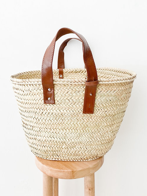 Marrakech Tote | Brown Leather Strap
